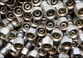 Metal hydraulic fittings