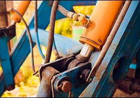 replace worn hydraulic hose